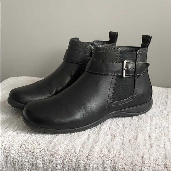 great quality quality latest discount Vionic Shoes | Adrie Womens Black Ankle Boots Size 8 | Poshmark